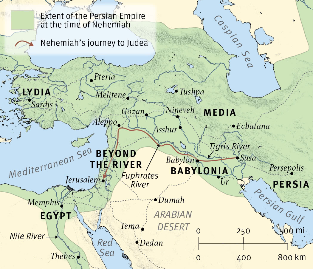 The Persian Empire at the Time of Nehemiah