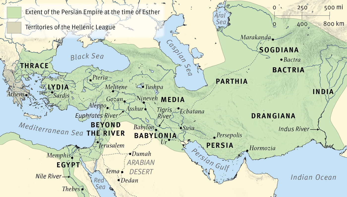 The Persian Empire at the Time of Esther