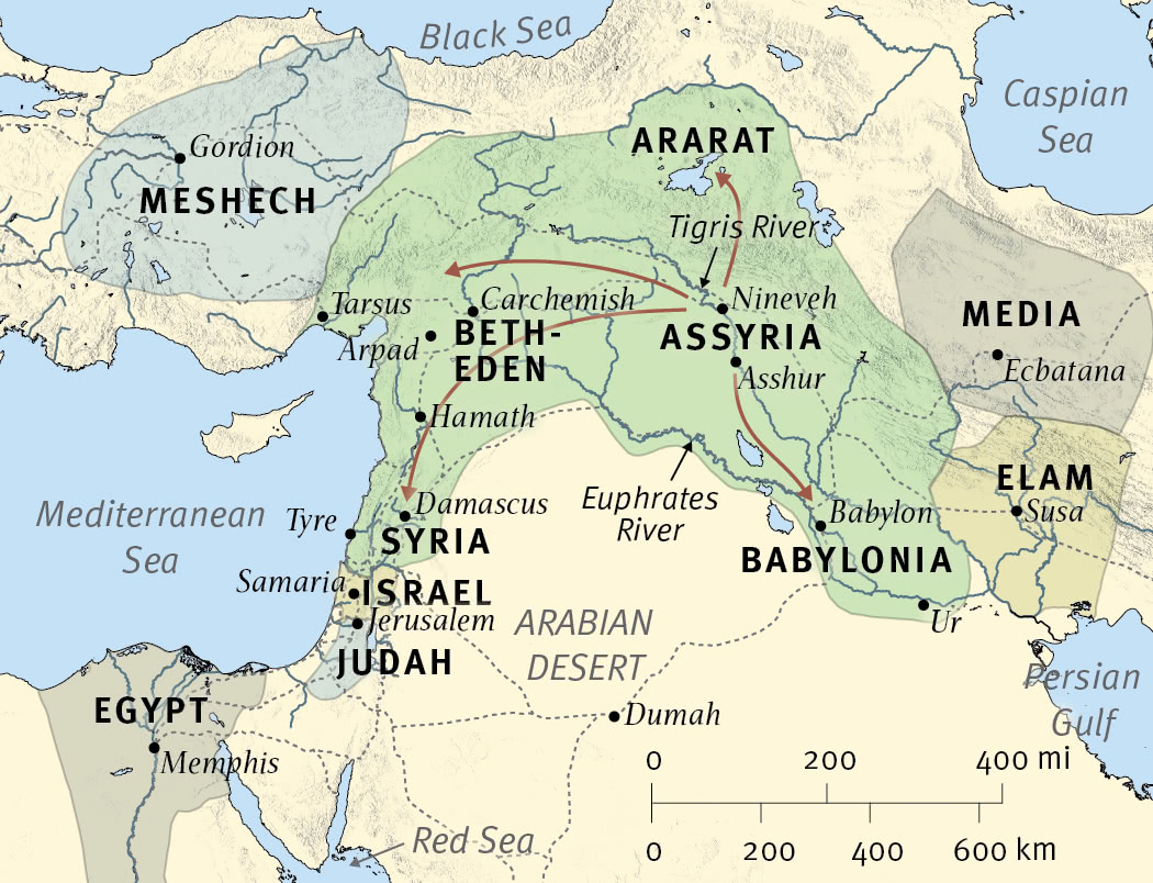 The Near East at the Time of Isaiah