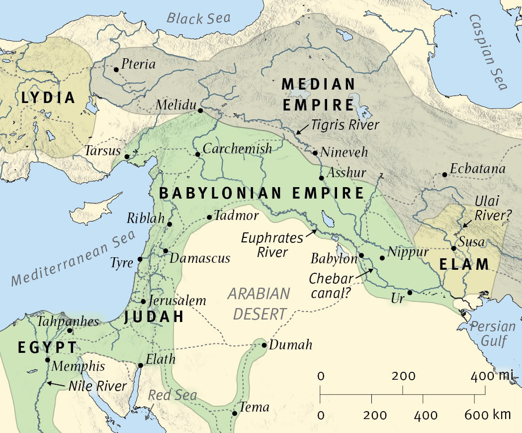 The Empires of Daniel's Visions: The Babylonians