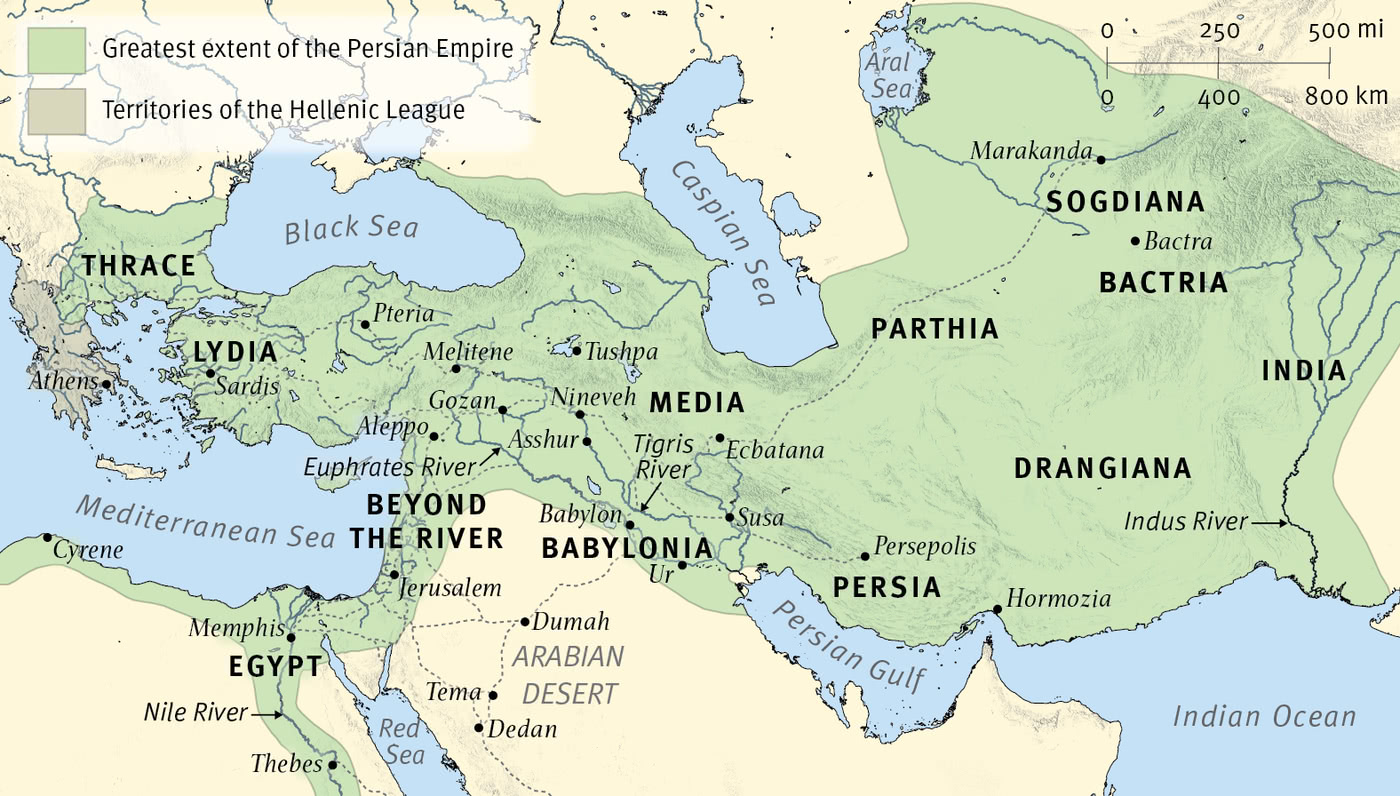 The Empires of Daniel's Visions: The Persians