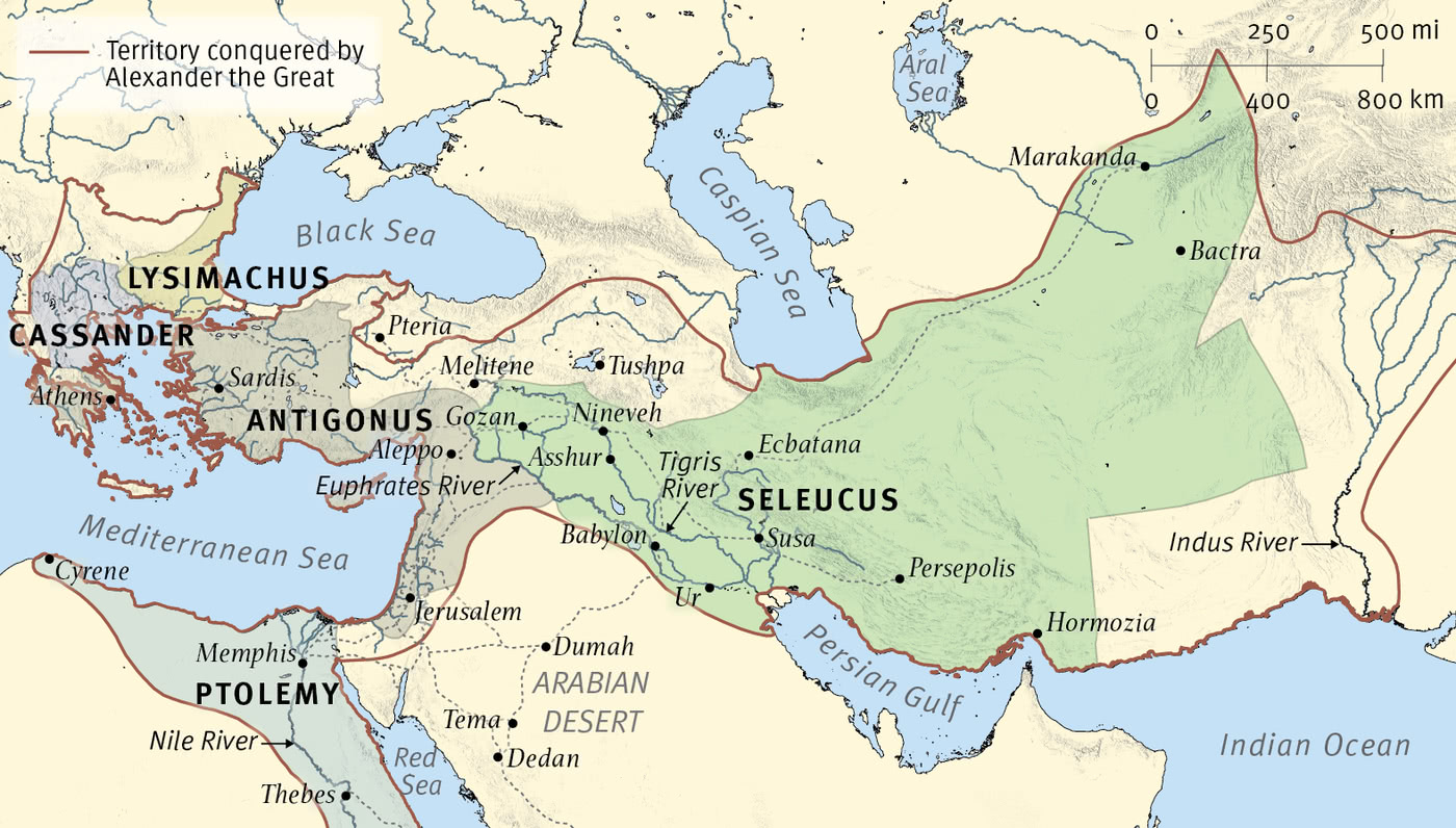 The Empires of Daniel's Visions: The Greeks