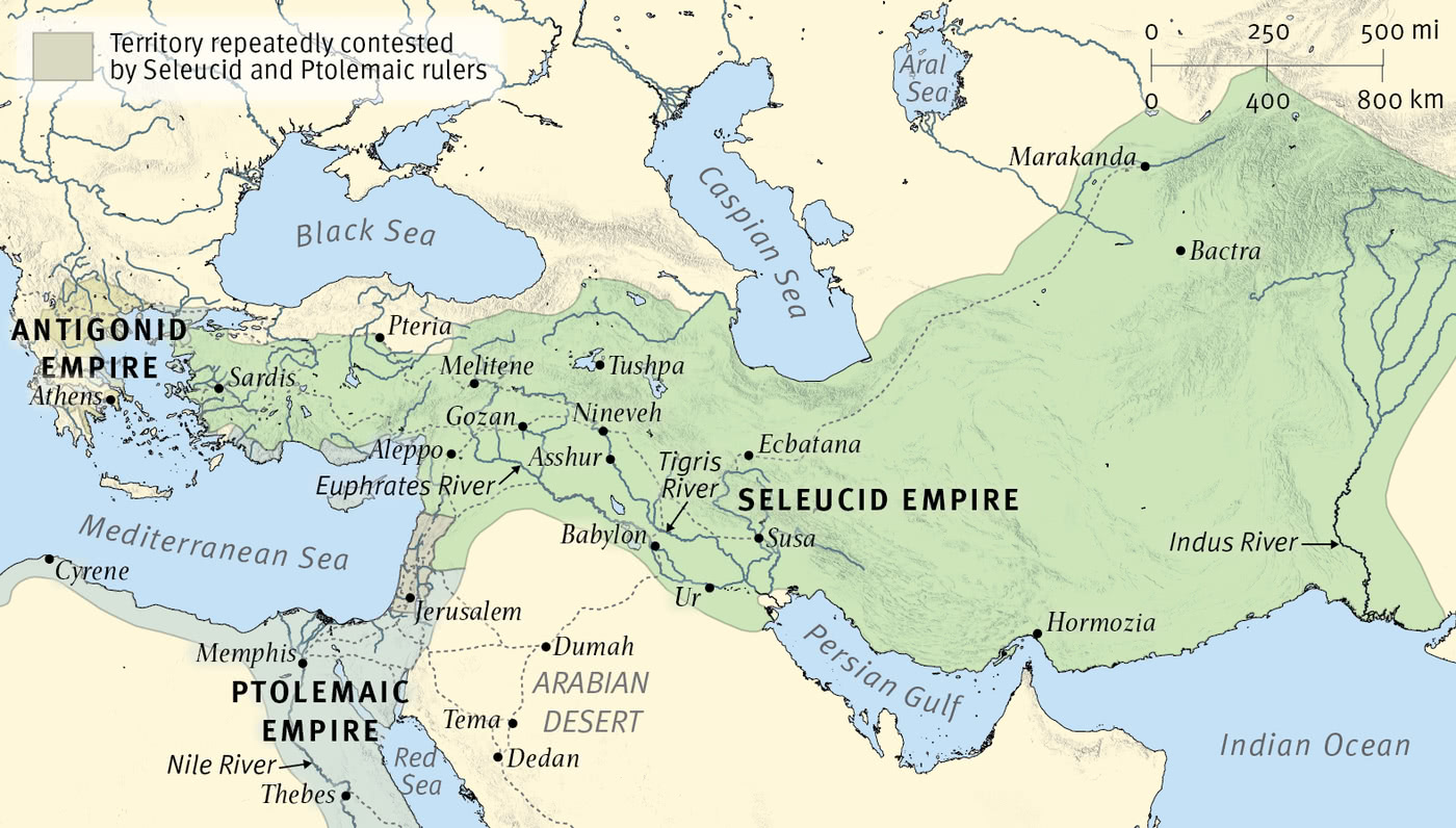 The Empires of Daniel's Visions: The Ptolemies and the Seleucids (Early)