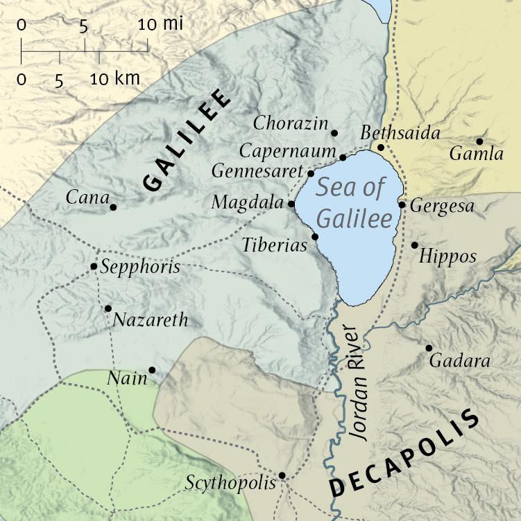 Jesus' Ministry in Galilee