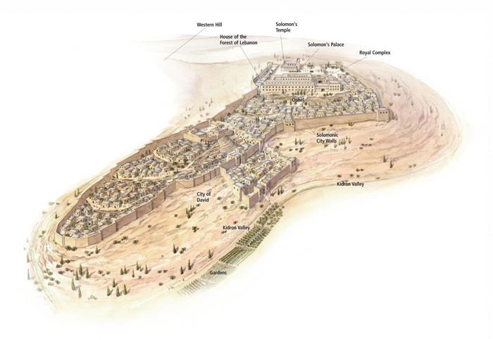 Jerusalem in the Time of Solomon