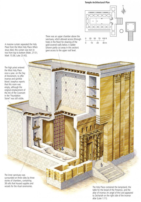 Herod's Temple in the Time of Jesus