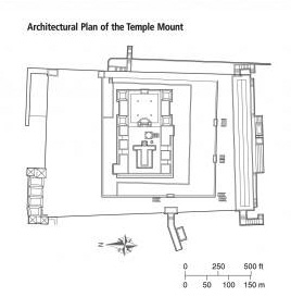 Architectural Plan of the Temple Mount