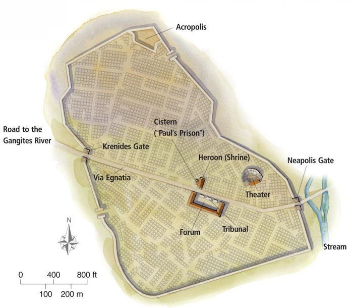 Philippi in the Time of Paul (c.
