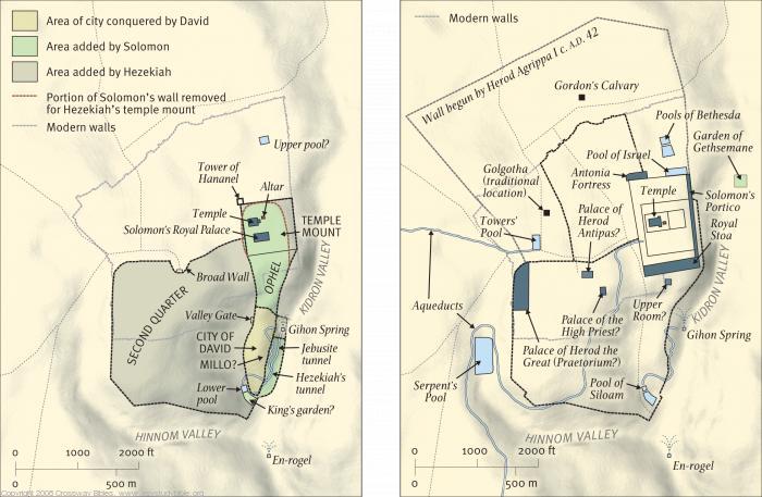 Map 10: Jerusalem