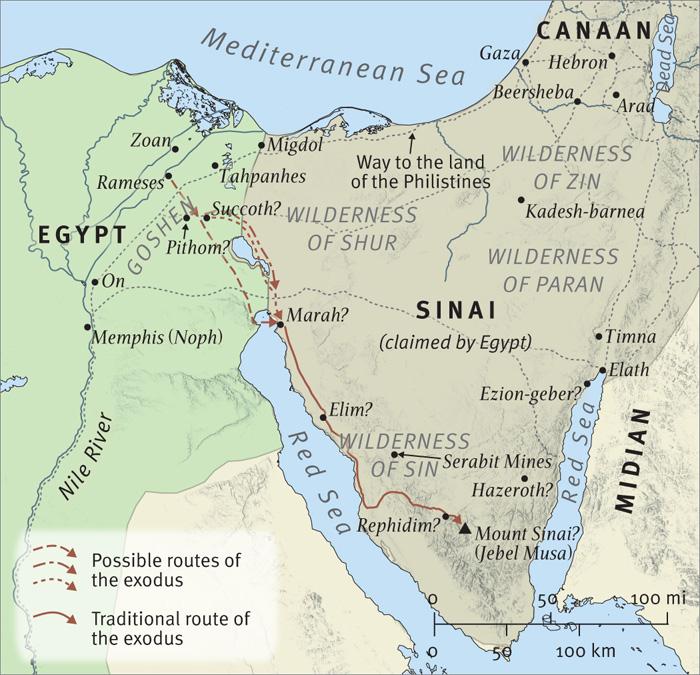The Journey to Mount Sinai