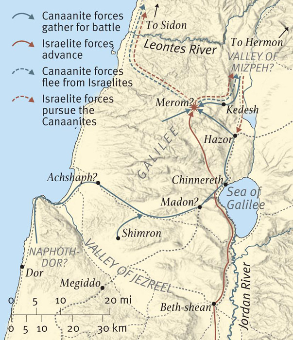 The Conquest of Canaan: The Northern Campaign