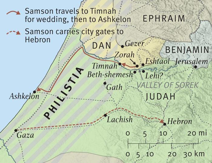 Samson's Exploits