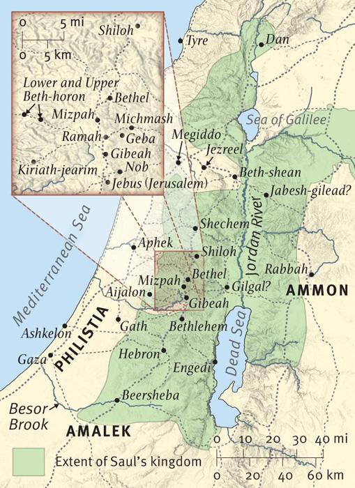 The Setting of 1 Samuel