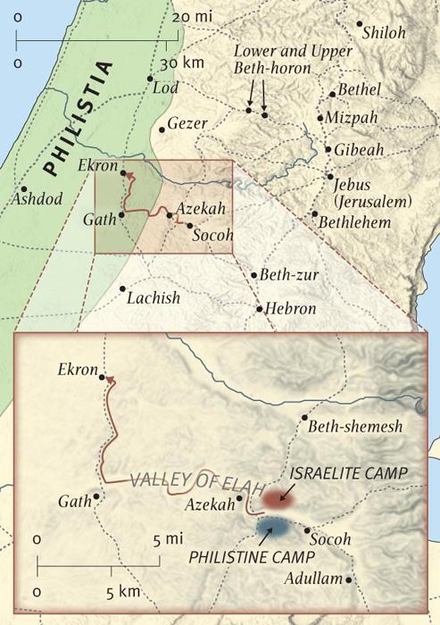 The Battle at Elah