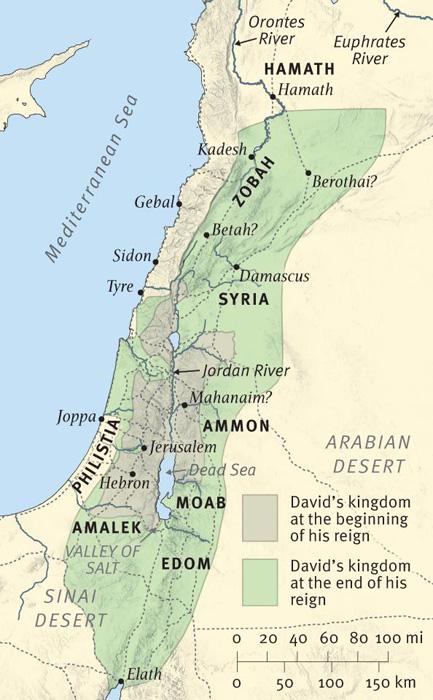 The Setting of 2 Samuel