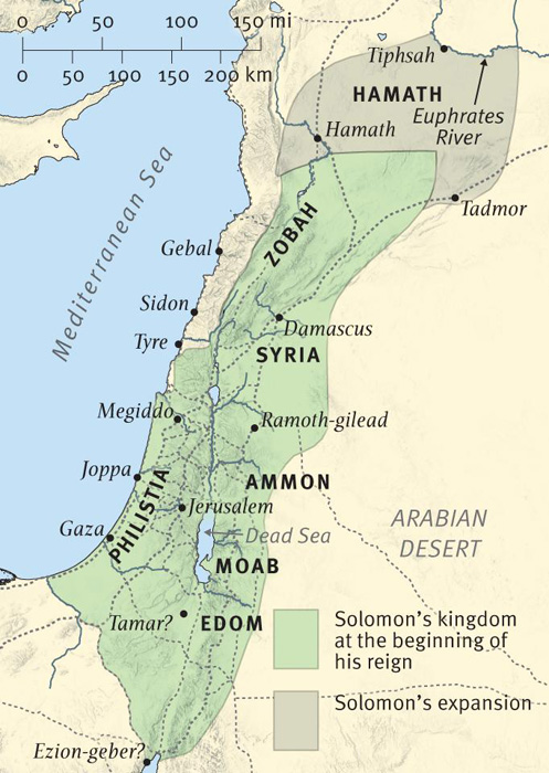 The Extent of Solomon's Kingdom