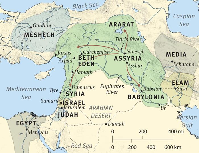 The Resurgence of Assyrian Influence