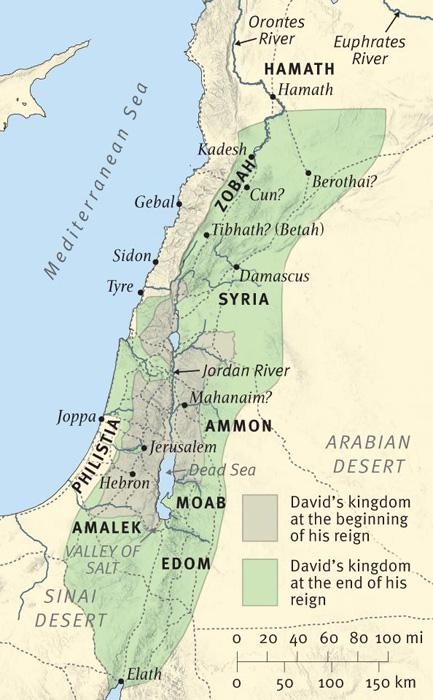 The Extent of David's Kingdom