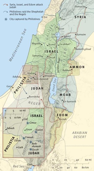 Syria and Israel Attack Judah
