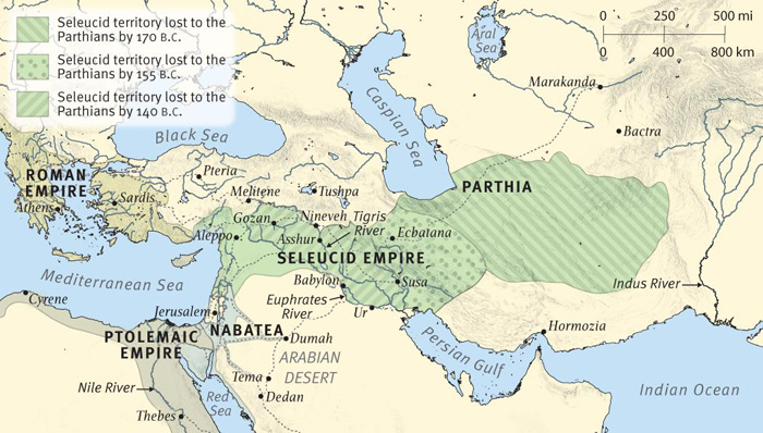 The Empires of Daniel's Visions: The Ptolemies and the Seleucids (Late)