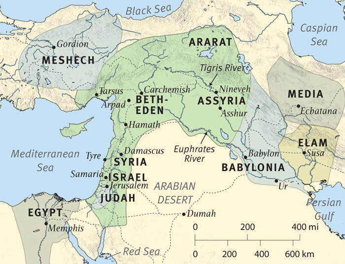 The Near East at the Time of Zephaniah