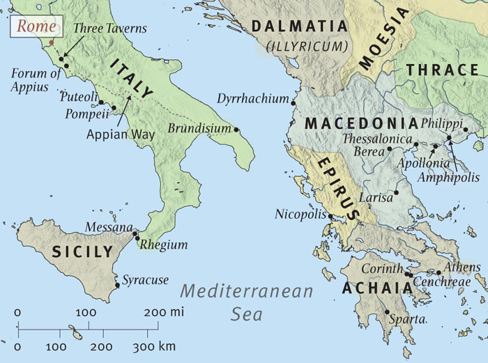 The Setting of Romans